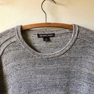Michael Kors Cotton & wool crewneck sweater